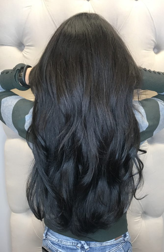Hair Extensions, AZ Strands, After Photo