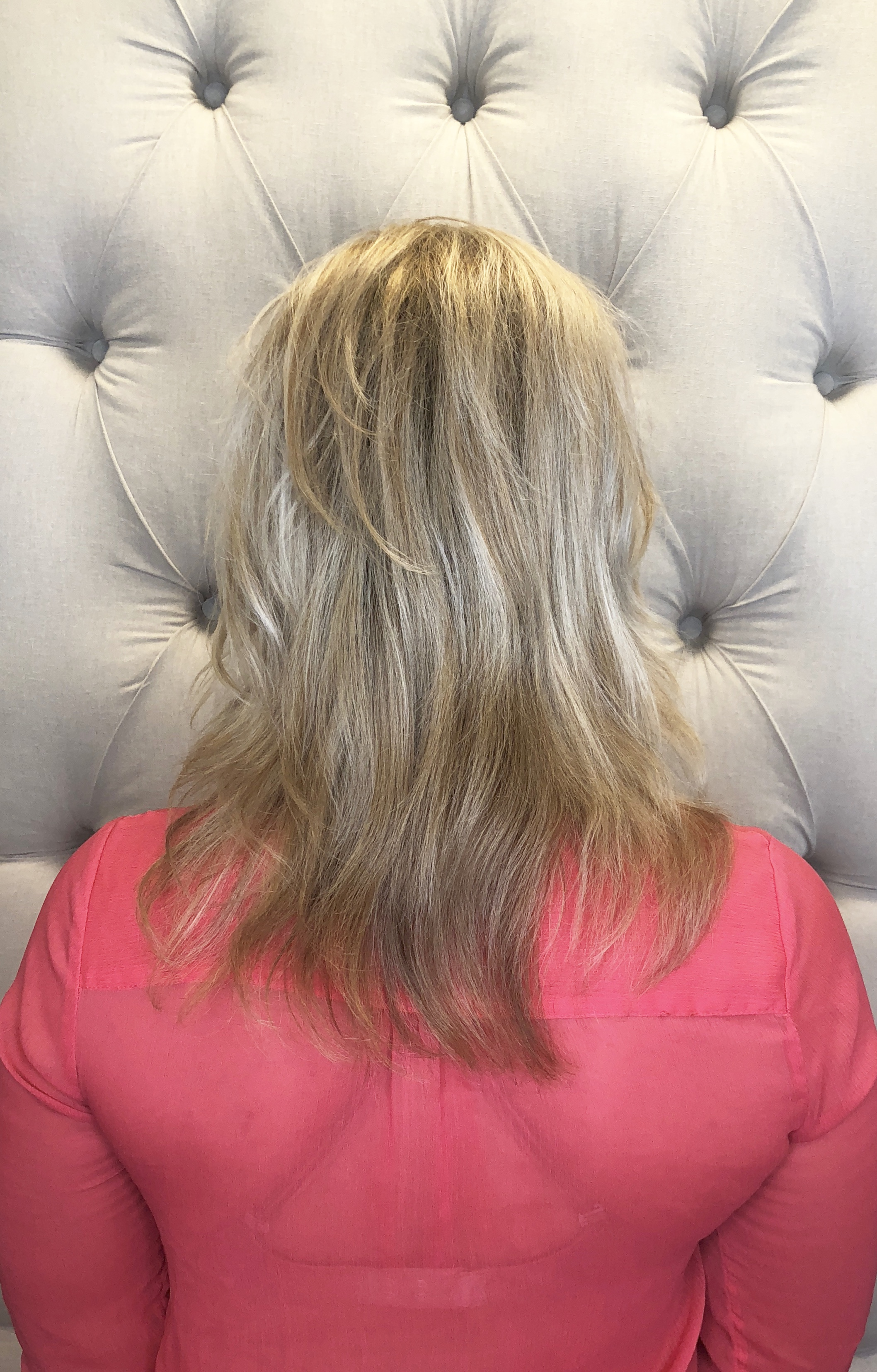 Hair Extensions, AZ Strands, Before Photo